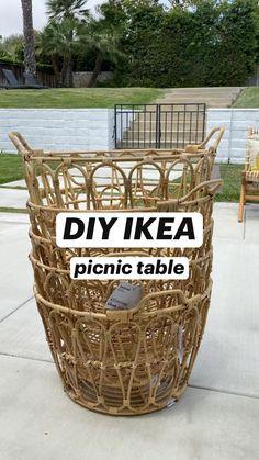 Backyard Picnic, Beach Picnic, Picnic Table, Picnic Set, Summer Picnic, Picnic Decorations, Birthday Decorations, Devon, Apartment Balcony Decorating