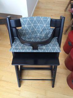 Hynde til TripTrap stol efter mønster fra Stof og Stil
