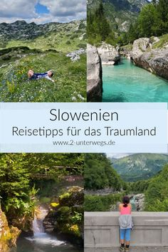Slowenien – Reisetipps für das Traumland Slovenia is the ideal summer destination for nature lovers. Hiking, kayaking, canyoning and much more can be done in Slovenia. Here are tips for traveling to Slovenia and various destinations and activities. Europe Destinations, Europe Travel Tips, Best Places In Europe, Slovenia Travel, Europe Continent, Reisen In Europa, Voyage Europe, Road Trip Hacks, Summer Travel