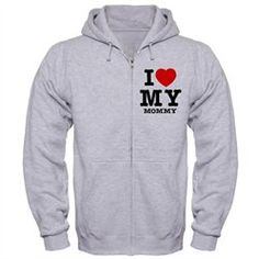 #Artsmith Inc             #ApparelTops              #Hoodie #Love #Mommy #Mother #Heart                 Zip Hoodie I Love My Mommy - Mom Mother Heart                                 http://www.snaproduct.com/product.aspx?PID=7697955