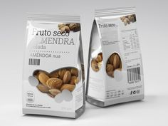 Packaging of the world: Fruto Seco Nuts Packaging Design