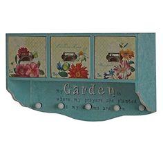 Wandregal Carolina, Garderobe Wandgarderobe Küchenregal, Shabby-Look Vintage, 33x50x18cm Mendler http://www.amazon.de/dp/B00SWHR1IW/ref=cm_sw_r_pi_dp_VK-exb14FDTXJ