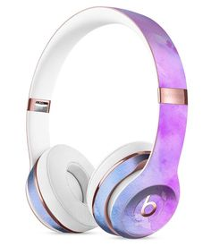 Washed 4322 Absorbed Watercolor Texture Full-Body Skin Kit for the Beats by Dre Solo 3 Wireless Headphones
