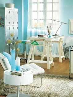 Rincón de costura - ¿O rincón de costura? - Despacho estudio - Decoracion interiores - Interiores, Ambientes, Baños, Cocinas, Dormitorios y habitaciones - CASADIEZ.ES