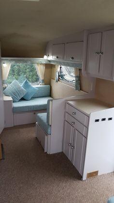 Caravan makeover, renovation.