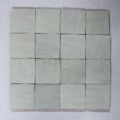 Zelliges 001 tegels Marokkaanse tegels 10x10 handgekapt