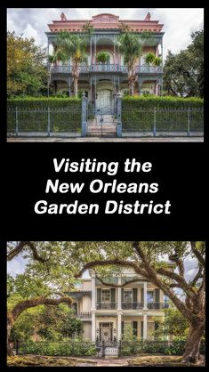 an architectural walking tour of the garden district in new orleans louisiana usa - Garden District Walking Tour
