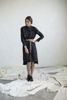 Silk dress Made in Barcelona
