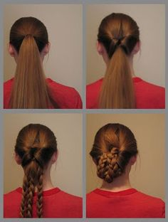 1000+ images about Victorian Hair designs on Pinterest | Victorian hairstyles, Bun updo and ...