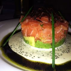 Yes.  Salmon Tartare.  delish