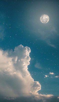 Tumblr Wallpaper, Night Sky Wallpaper, Cloud Wallpaper, Pastel Wallpaper, Cute Wallpaper Backgrounds, Pretty Wallpapers, Galaxy Wallpaper, Nature Wallpaper, Wallpaper Art