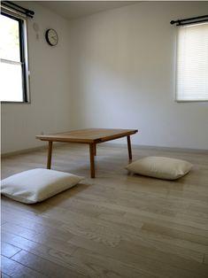 f:id:yamasan0521:20150605092033j:plain Minimalist House Design, Minimalist Room, Minimalist Home Interior, Home Design Decor, Interior Design Inspiration, Home Decor, Floor Desk, Interior Architecture, Living Spaces