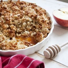 Ontbijtcrumble met havermout - Dille & Kamille