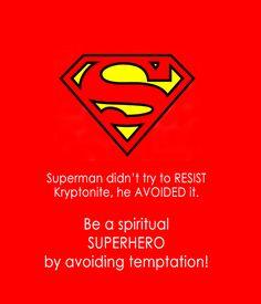 Love this!!   Avoid temptation
