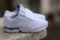 the best attitude 939e5 9ff9c adidas ZX Flux  White White Bluebird Adidas Zx Flux White, Latest Sneakers