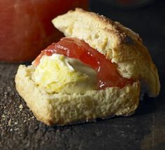 A teaspoon of ground ginger adds warmth to classic scones - try with homemade Rhubarb & ginger jam and clotted cream