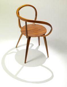 chairstalker:  George Nelson Pretzel Chair