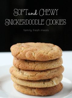 These Soft and Chewy Double Chip Snickerdoodle Cookies are THE BEST cookies. The combo of white chocolate and butterscotch in a snickerdoodle is amazing!