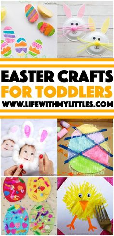 Easy Easter Crafts for Toddlers - Life With My Littles