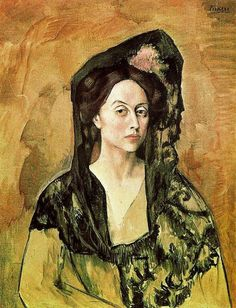 Madame Canals by Pablo Picasso, 1905