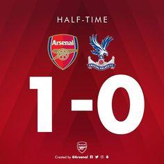 FULL TIME ! Arsenal 2 - 0 Crystal Palace #giroud #Iwobi #AFCvCPFC #arsenal #gunners #coyg