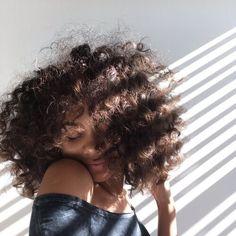 Imagem de girl, hair, and style