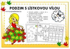 Podzim - předškoláci Puzzle, Puzzles, Puzzle Games, Riddles