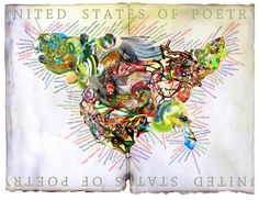 United States Of Poetry By Michael Gellatly