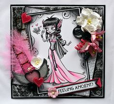Cards and More Cards: Tickled Pink Stamps