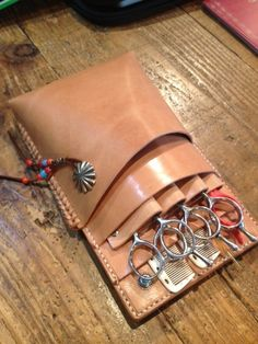 photo:11 Leather Tool Belt, Leather Bag Pattern, Small Leather Bag, Sewing Leather, Leather Keychain, Leather Tooling, Leather Craft, Leather Carving, Leather Flowers
