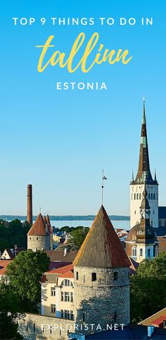 You're missing out if you've never heard of Tallinn, Estonia! With a beautiful old town, here are the top things to do on your trip.