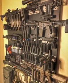 Want to load your magazines faster and easier without wearing out your thumbs? RAE Industries is your HERO! Get yours now and experience loading magazines without pain. Tactical Wall, Tactical Armor, Tactical Guns, Tactical Survival, Ammo Storage, Weapon Storage, Weapons Guns, Guns And Ammo, Zombie Weapons