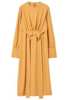 Abaya Fashion, Muslim Fashion, Fashion Dresses, Mode Abaya, Daily Dress, Muslim Girls, Hijabs, Hijab Outfit, Yellow Dress