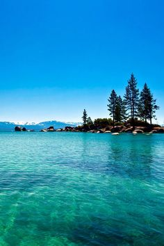 Turquoise, Lake Tahoe, California