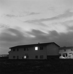 Robert Adams | The Place We Live | Yale University Art Gallery - Colorado Springs, Colorado, 1980 Summer Nights