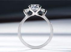 Palladium diamond engagement ring setting by Sholdt #igorman #sholdt