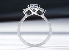 Palladium diamond engagement ring setting by Sholdt #igorman #sholdt
