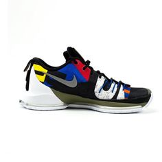 Nike KD 8 with colors inspired by the international flags that fly proudly across the city  #AtEazeEveryWhereYouAre