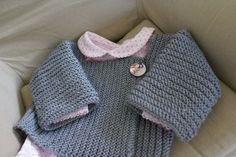 tricot pour bébé. helobidouille.