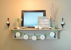 gonna do this kind of faux mantle at new house