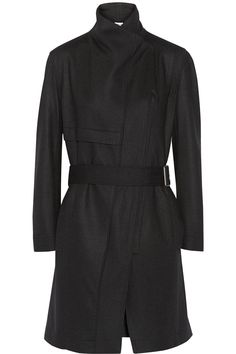 HELMUT LANG Wool-felt trench coat $565 http://www.net-a-porter.com/products/507956