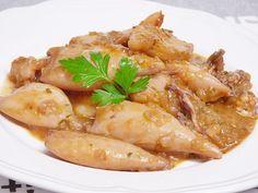 #Chipirones en salsa, receta fácil