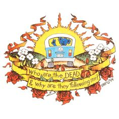 Grateful Dead Sticker, Who are the Dead. (large window sticker) x Grateful Dead Who are the Dead. Grateful Dead Tattoo, Grateful Dead Image, Hippie Love, Hippie Art, Gathering Of The Vibes, Grateful Dead Dancing Bears, Dead And Company, Free Cartoons, Forever Grateful