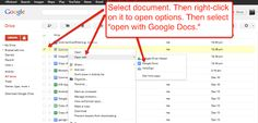 Free Technology for Teachers: How to Open and Edit Word Files in Google Drive