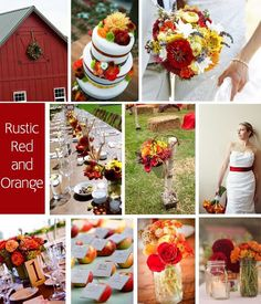 Love rustic red