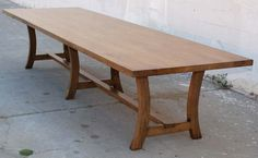 Vintage Walnut Dining Table   From a unique collection of antique and modern dining room tables at https://www.1stdibs.com/furniture/tables/dining-room-tables/