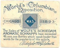 In 'House of Shadows', short Gothic romance from Providence Lyceum, this is 'Nathaniel' & 'Victoria's' honeymoon main destination. Millions of Americans traveled to Chicago for this extraordinary months-long event. World's Columbian Exposition c.1893