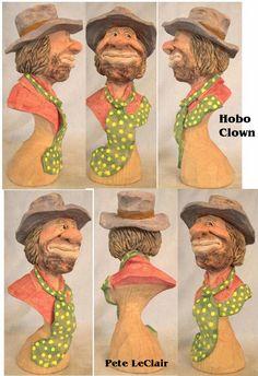 Pete LeClair Project Hobo Clown