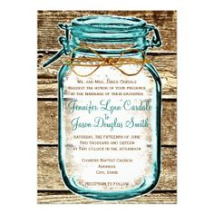 >>>Cheap Price Guarantee          Teal Mason Jar Wood Rustic Wedding Invitations           Teal Mason Jar Wood Rustic Wedding Invitations in each seller & make purchase online for cheap. Choose the best price and best promotion as you thing Secure Checkout you can trust Buy bestReview        ...Cleck Hot Deals >>> http://www.zazzle.com/teal_mason_jar_wood_rustic_wedding_invitations-161154417763446424?rf=238627982471231924&zbar=1&tc=terrest