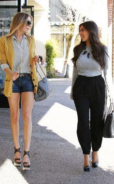 LeAnn Rimes & Kim Kardashian - Such style! <3